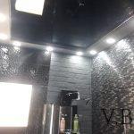 Натяжной потолок в ванной, Израиль