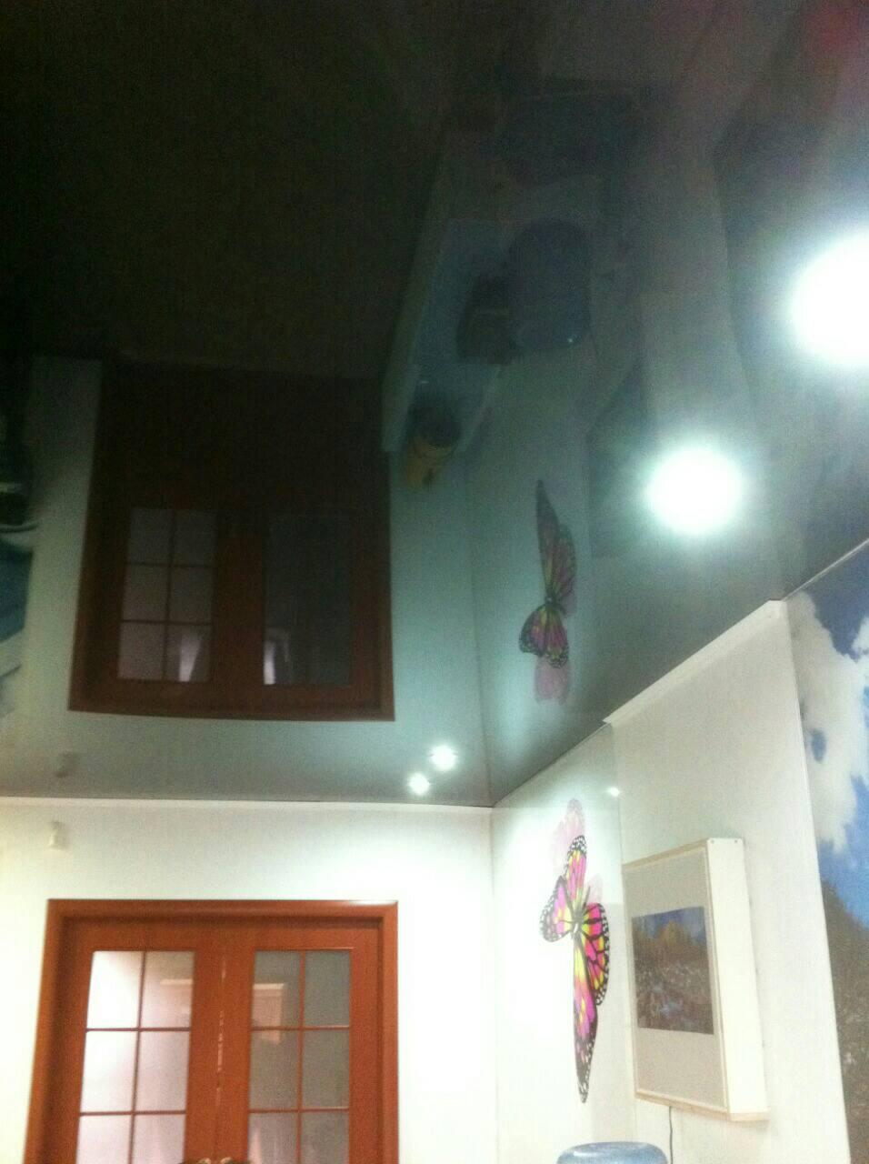 Подвесные потолки из гипсокартона в Израиле.